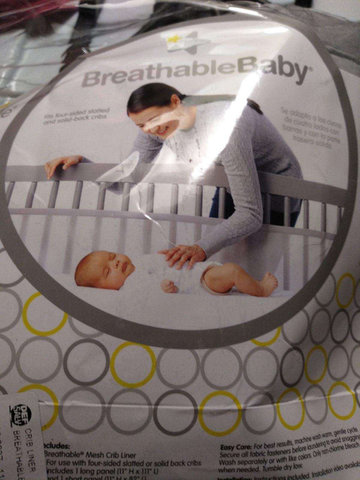 BreathableBaby crib liner