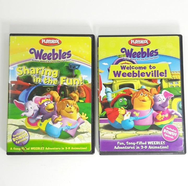 Weebles DVD Sharing in Fun Weebleville