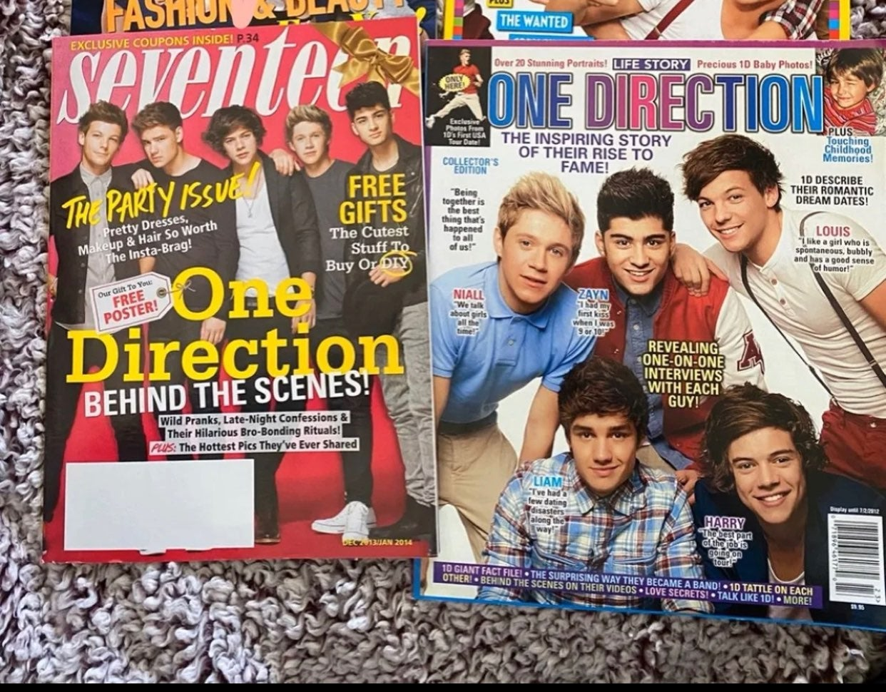Magazines - One Direction Cover Specials