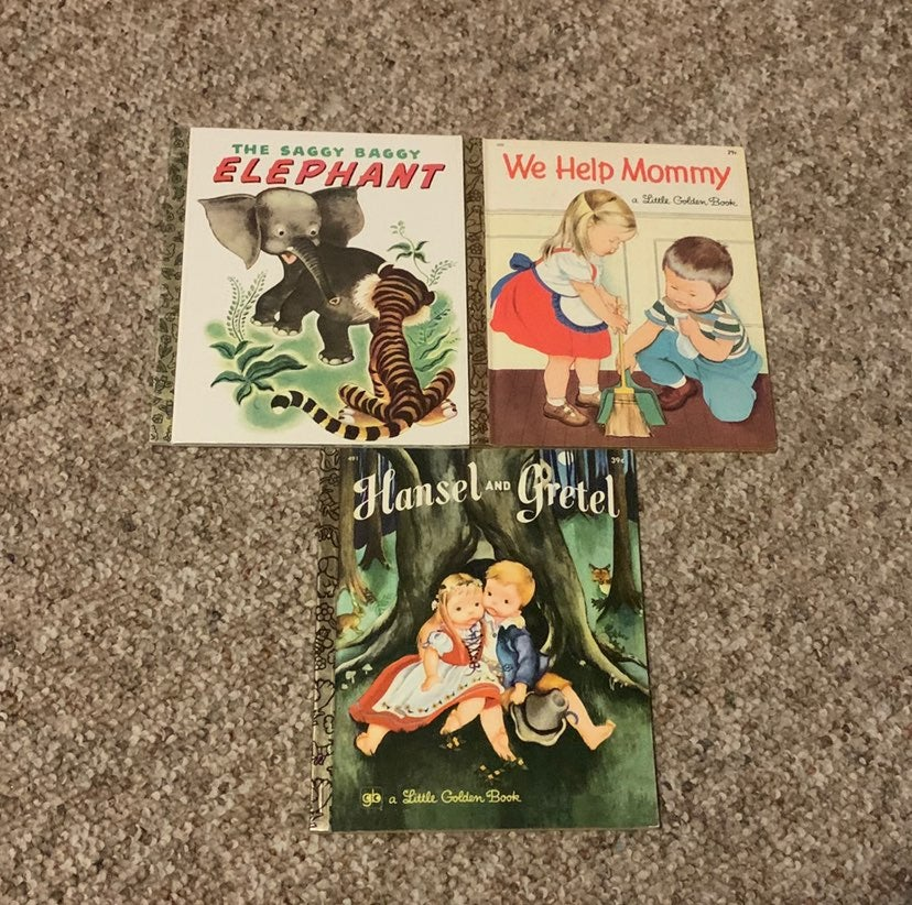 Vintage Little Golden Books