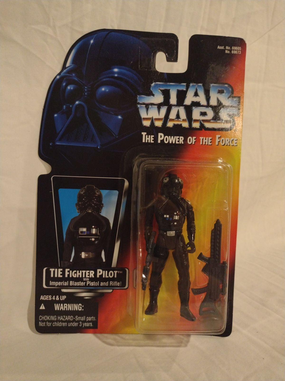 Star Wars 1995 Hasbro Tie Fighter pilot
