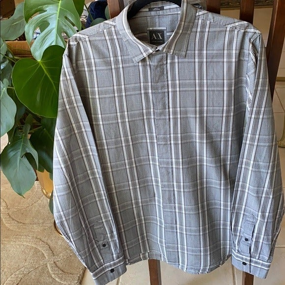A|X Armani Exchange Slim Fit Shirt Large