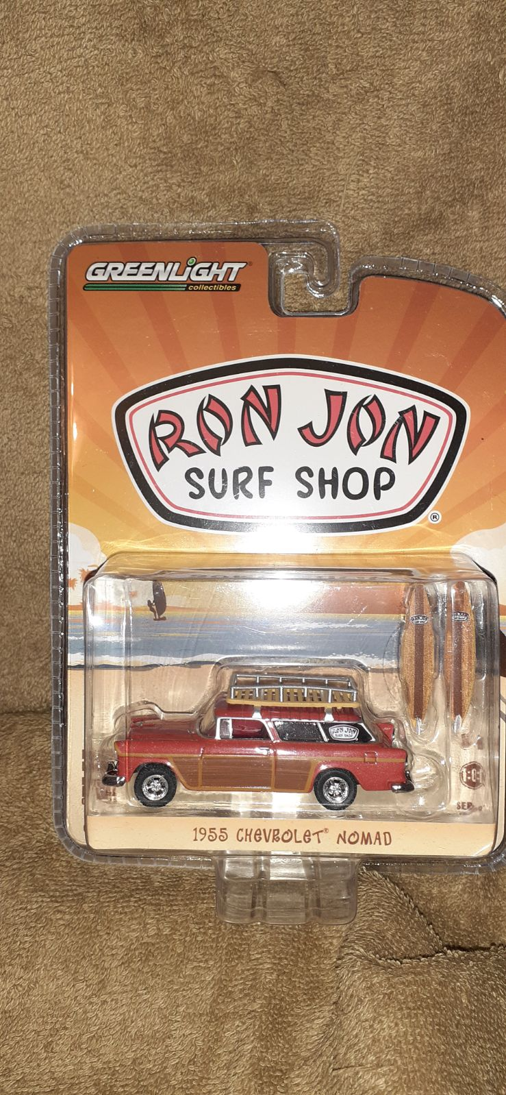 Greenlight LE ron jon surf shop 55 nomad