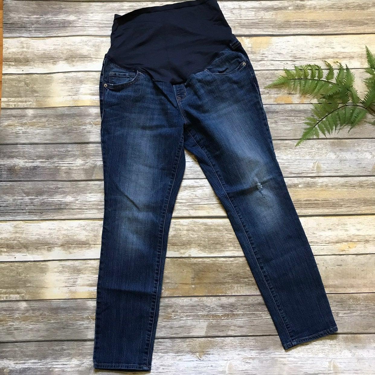 Old Navy Full Panel Maternity Jeans, 12S