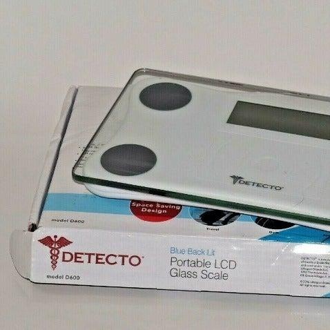 Detecto D600 Low Profile Travel Scale