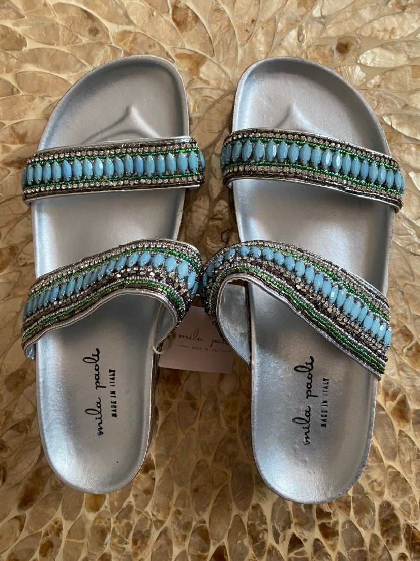 Mila Paoli Sandals Size 8 1/2