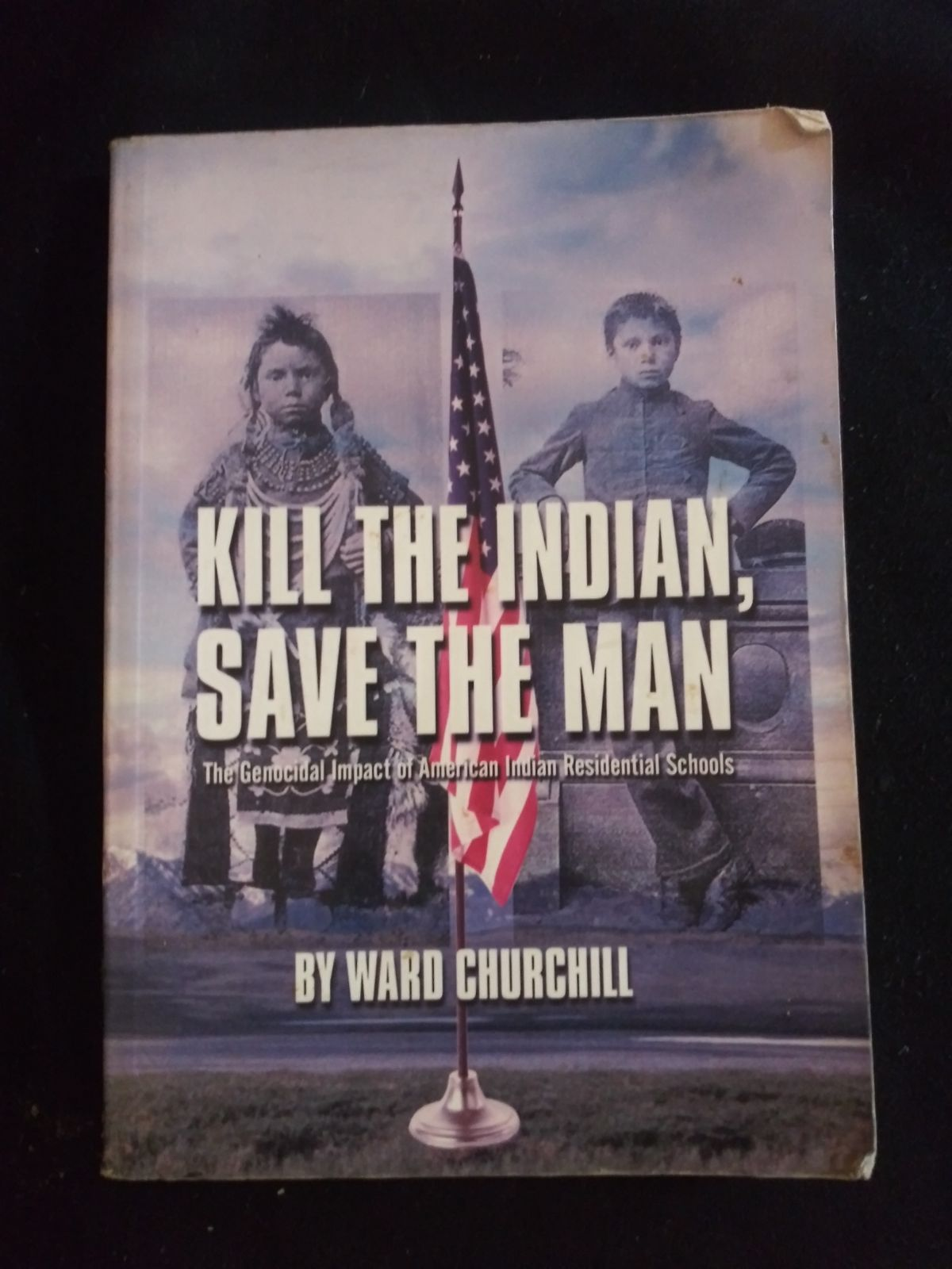 Kill the indian Save the Man