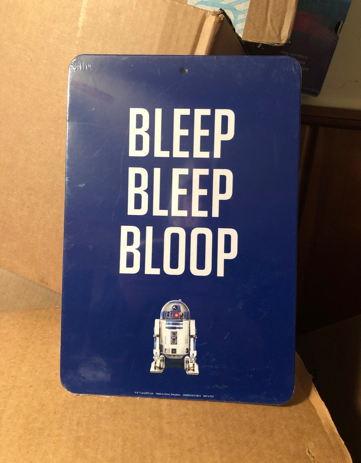 R2-D2 Star Wars Wall Sign