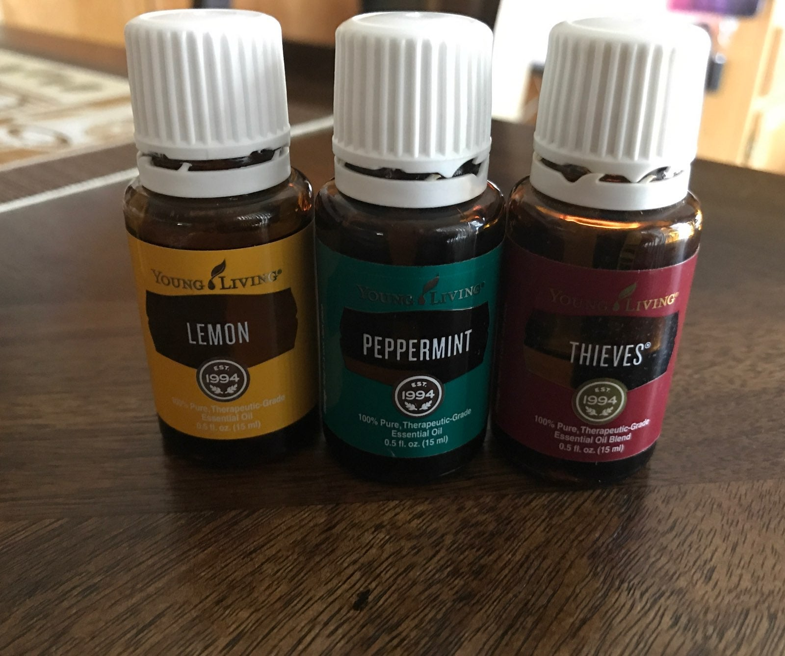 Young Living Essential Oils Bundle