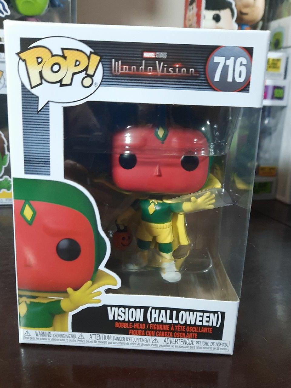 Halloween Vision Funko Pop 716 Wandavisi