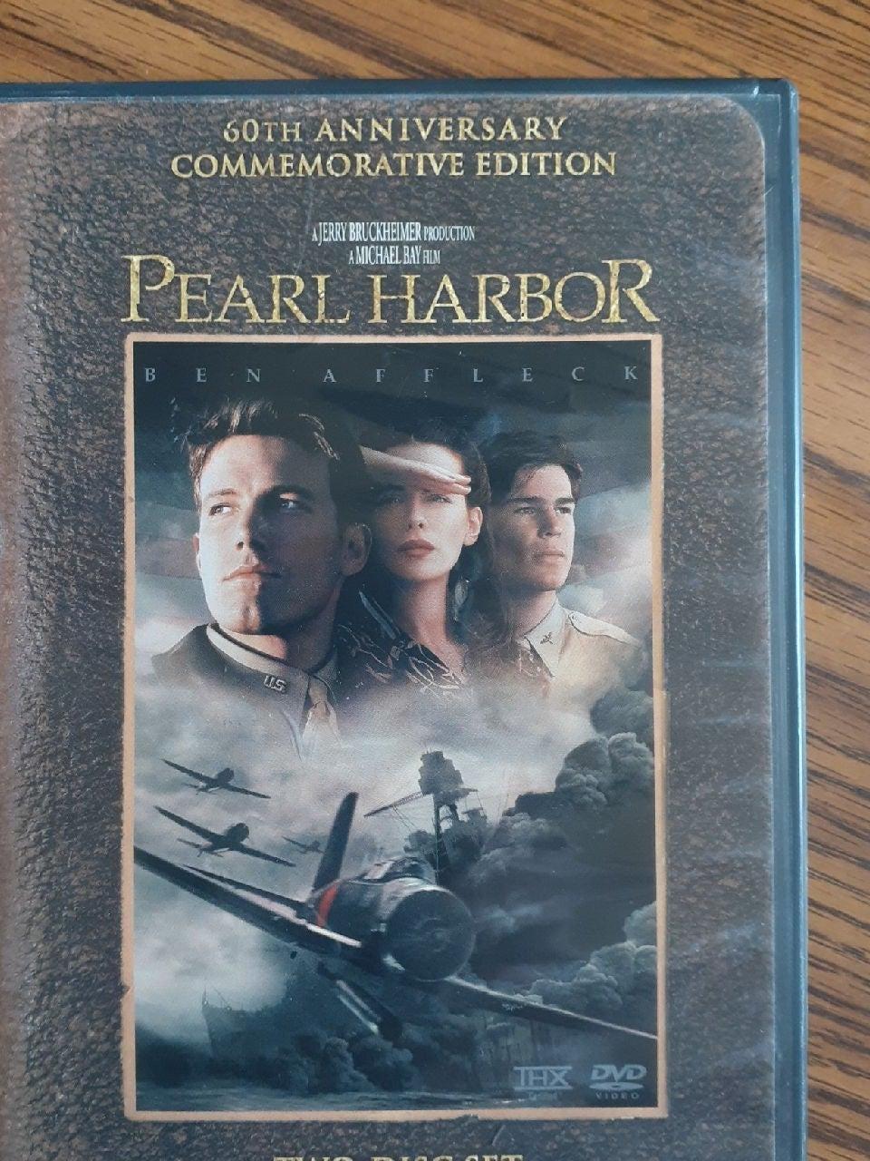 Pearl Harbor DVD 60th anniversary