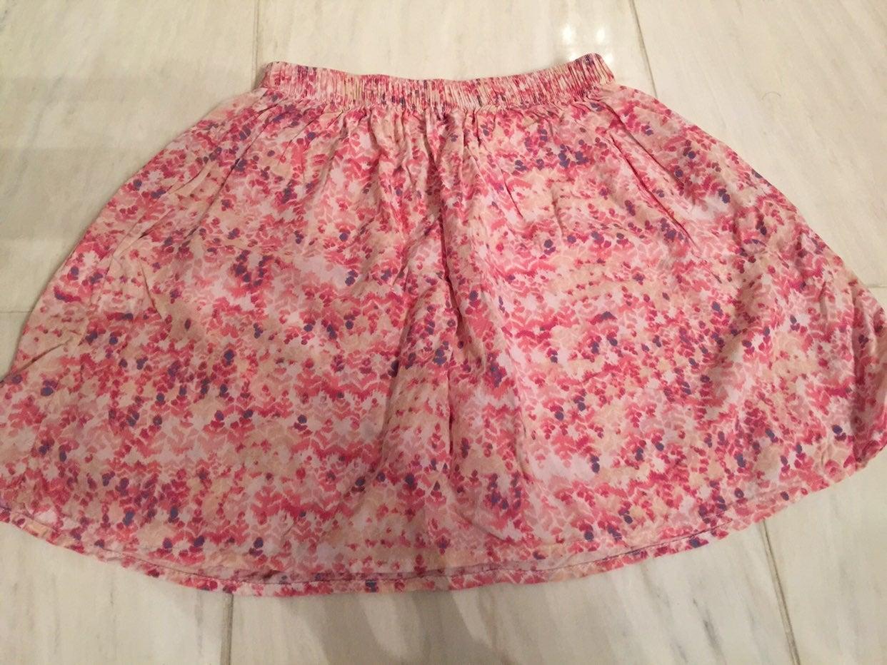 Abercrombie girls pink skirt