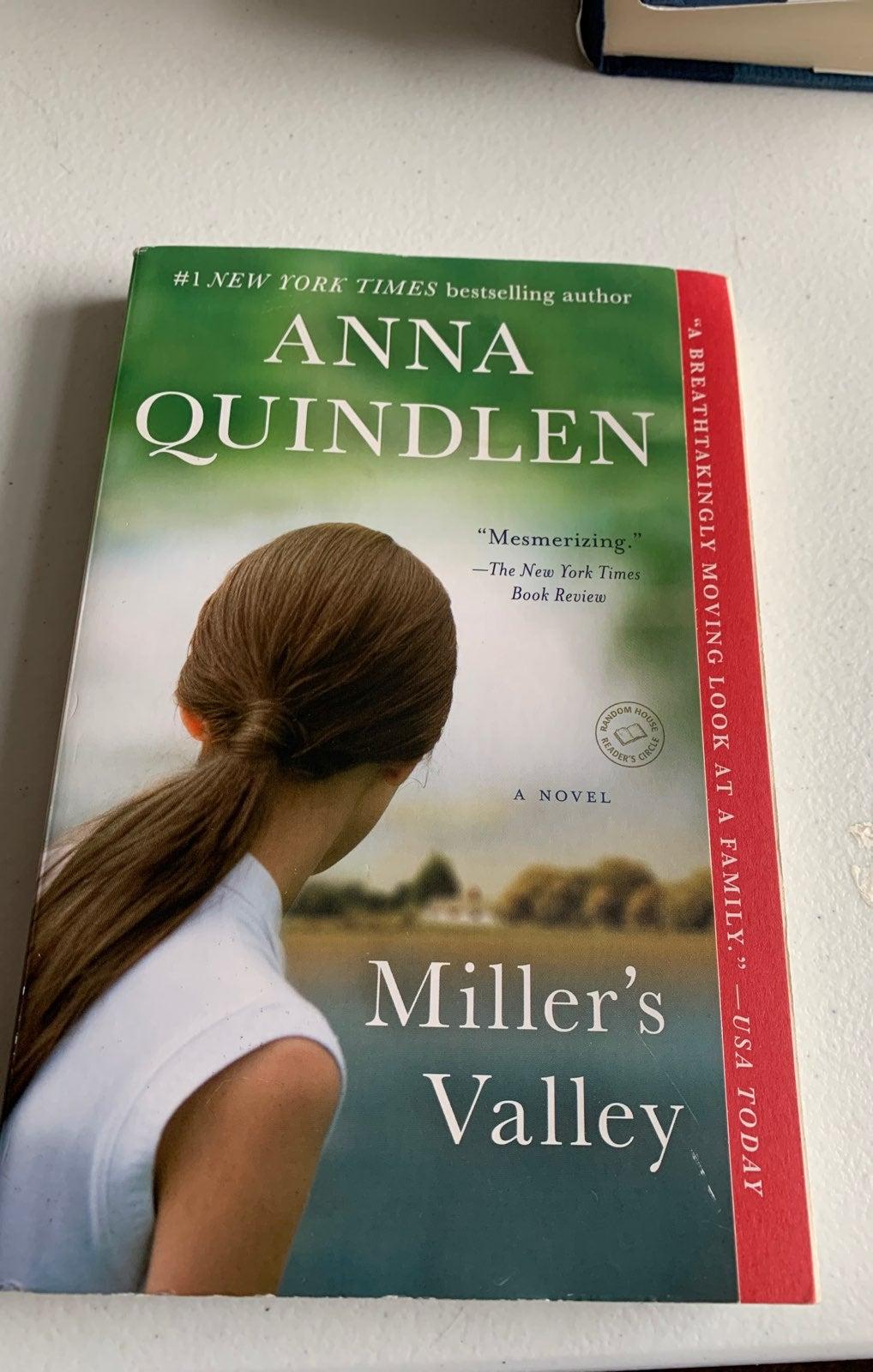 Miller's Valley by Anna Quinlen