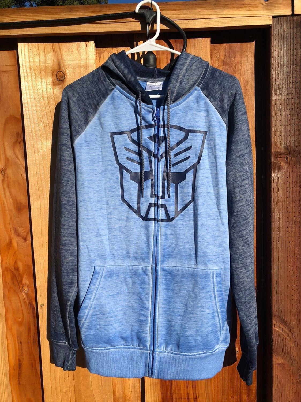 Transformers Hoodie & Luggage Tag