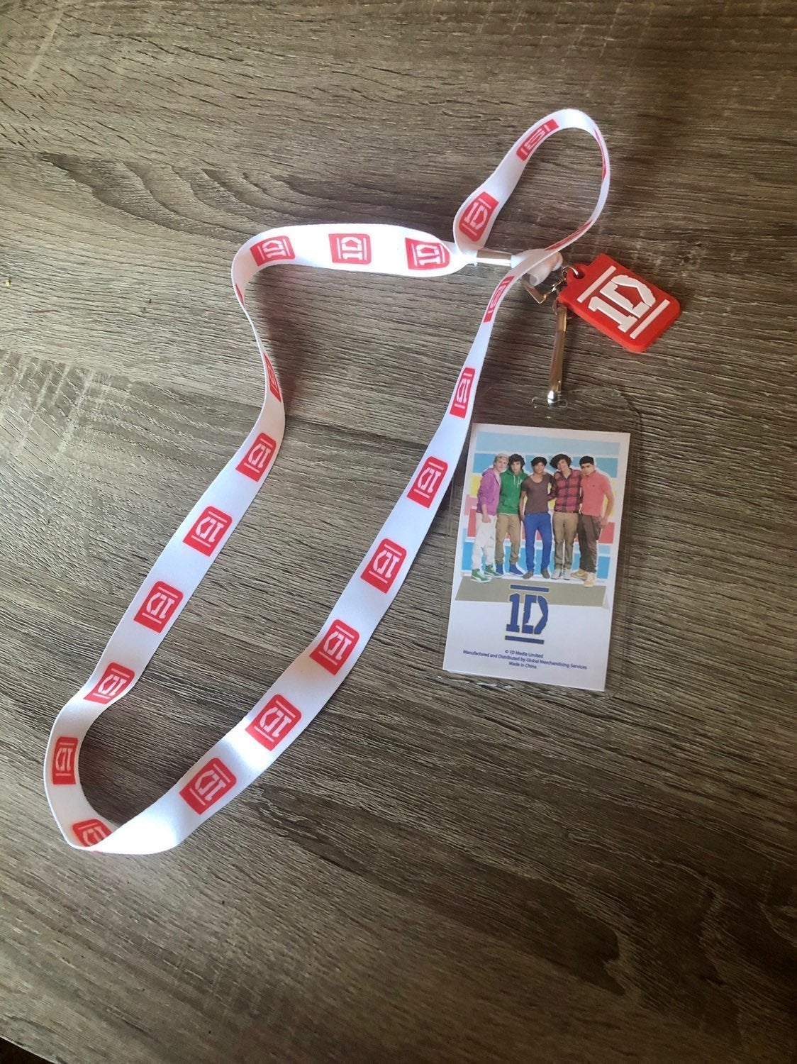One Direction Concert Pass Holder