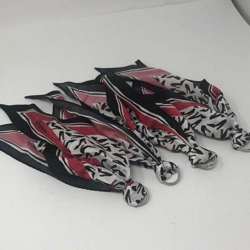 4 shoe key chain scarfs