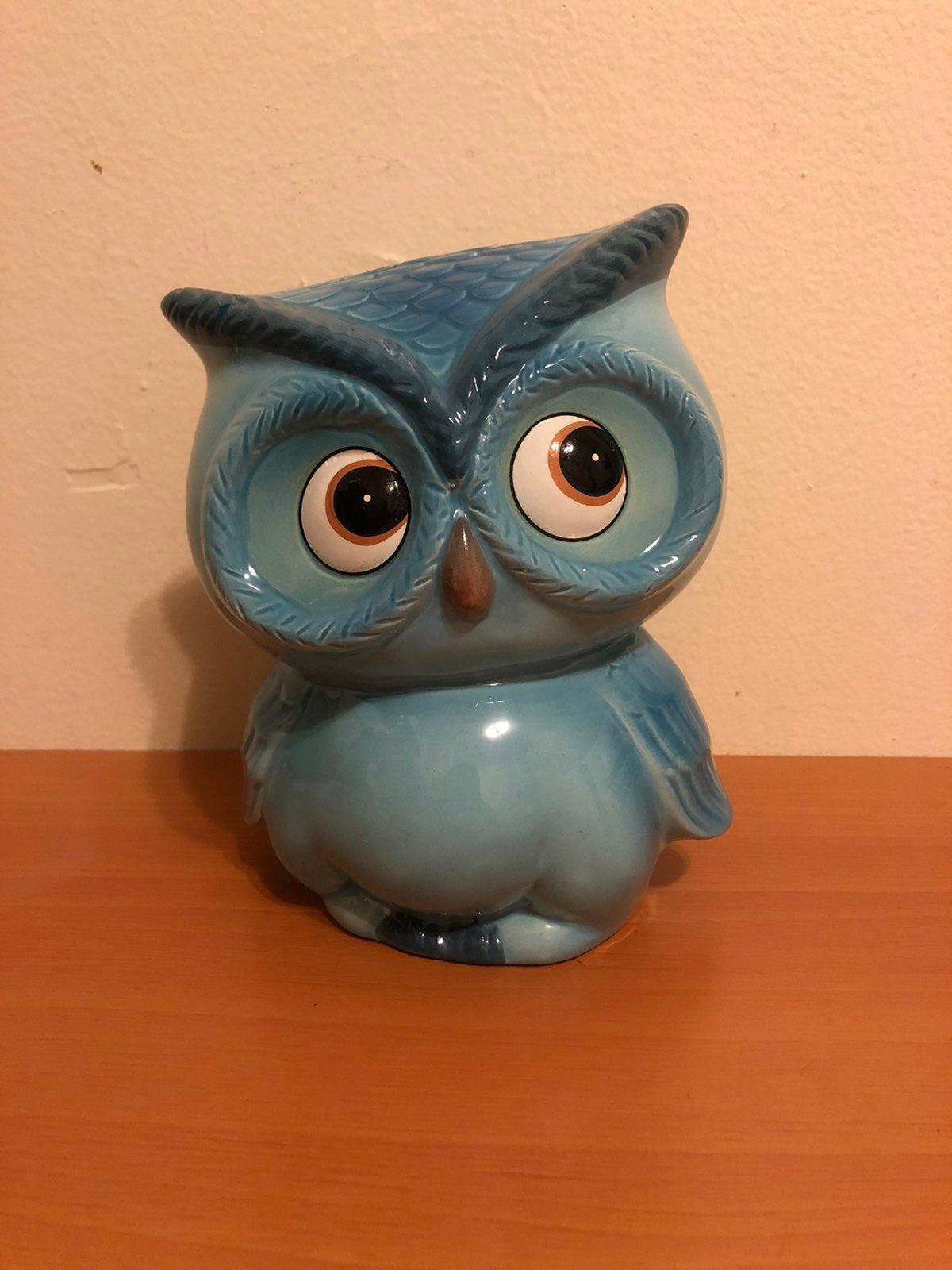 Ceramic Cute Owl Piggy Bank