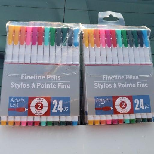 Artist Loft Fineliner Pens × 2 packs