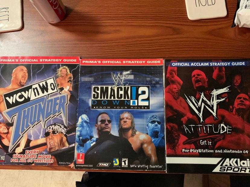 WWE Game Strategy Books