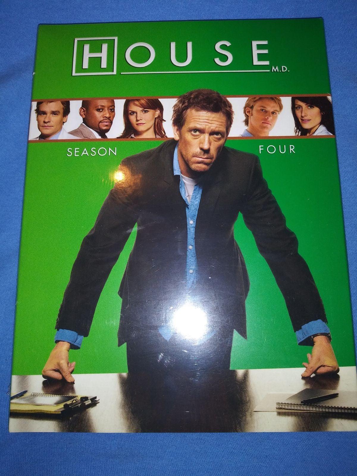 DVD house season 4 and 5