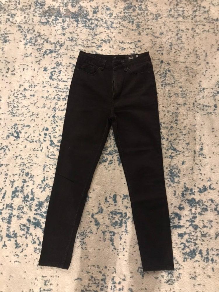 RES Denim skinny black jeans