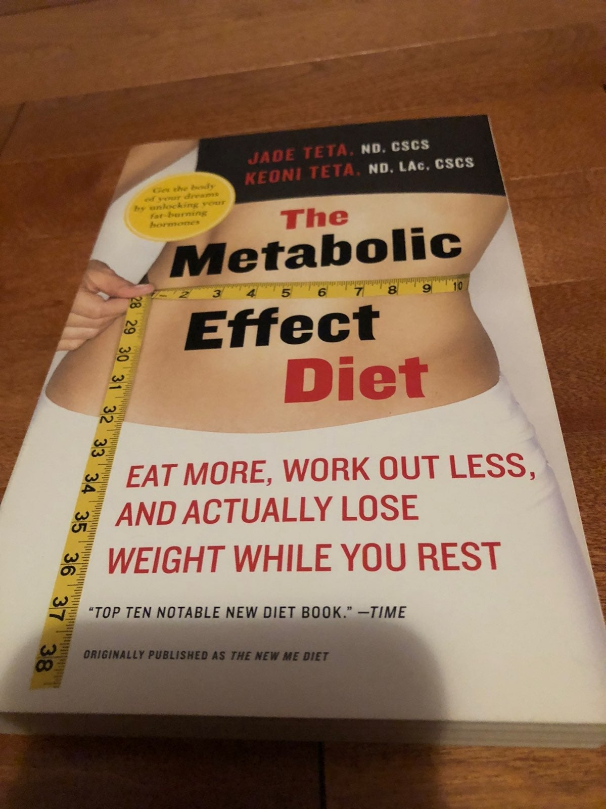 The Metabolic Effect Diet Book