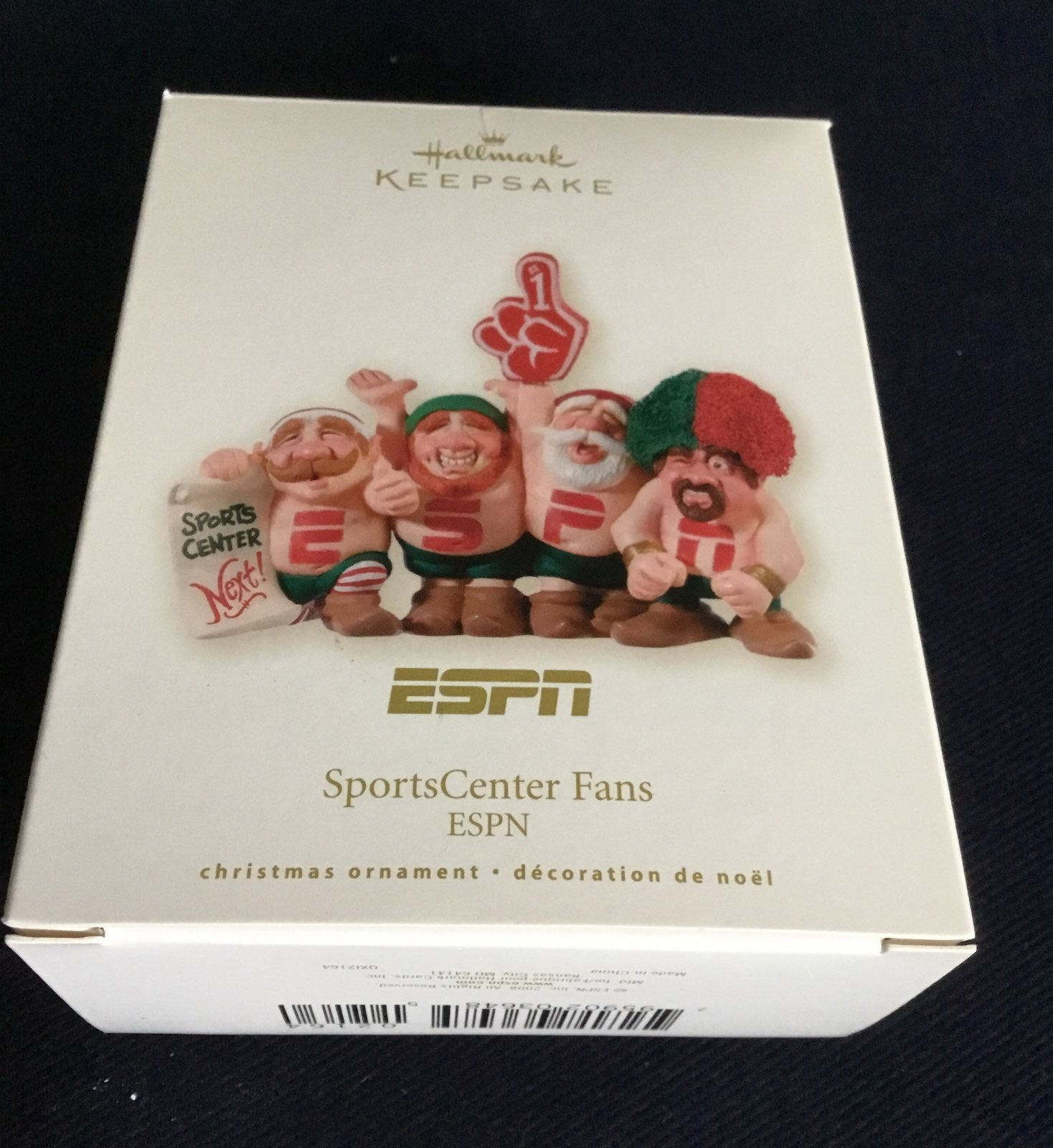 Hallmark Keepsake Ornament ESPN