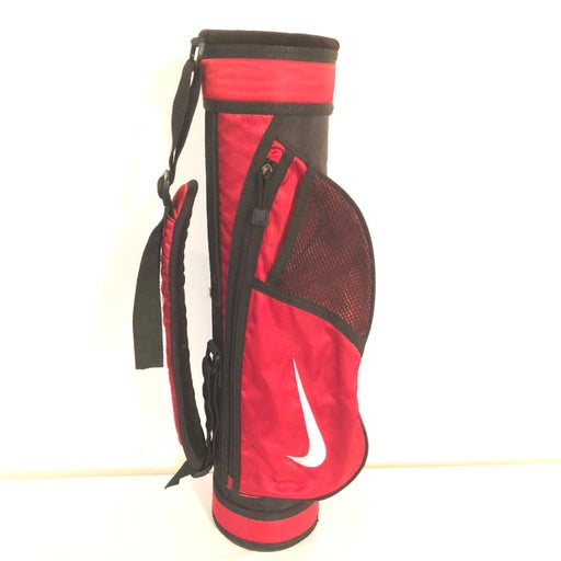Nike Youth Golf Carry Bag Red Black
