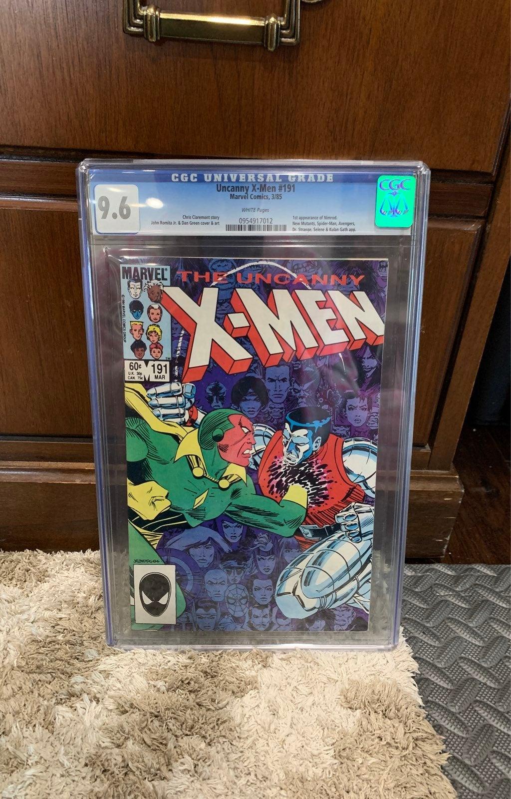 Uncanny X-Men #191 CGC 9.6