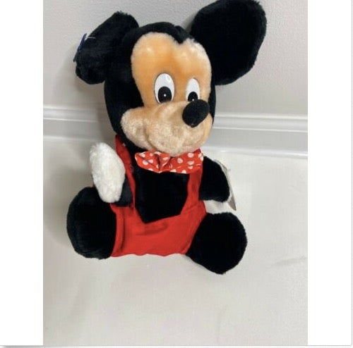 Vintage Disney Mickey Mouse Hand Puppet