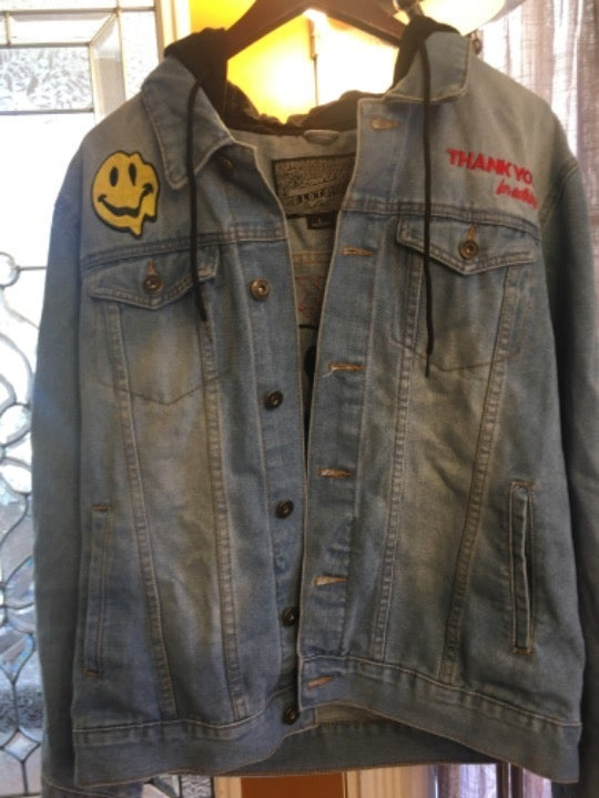 Brooklyn cloth mens denim jacket large