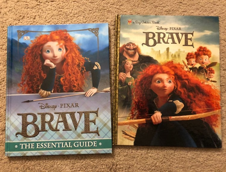 Disney's Brave books