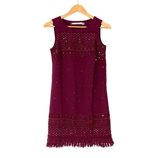 Chelsea & Violet XS Red Sequin Dress