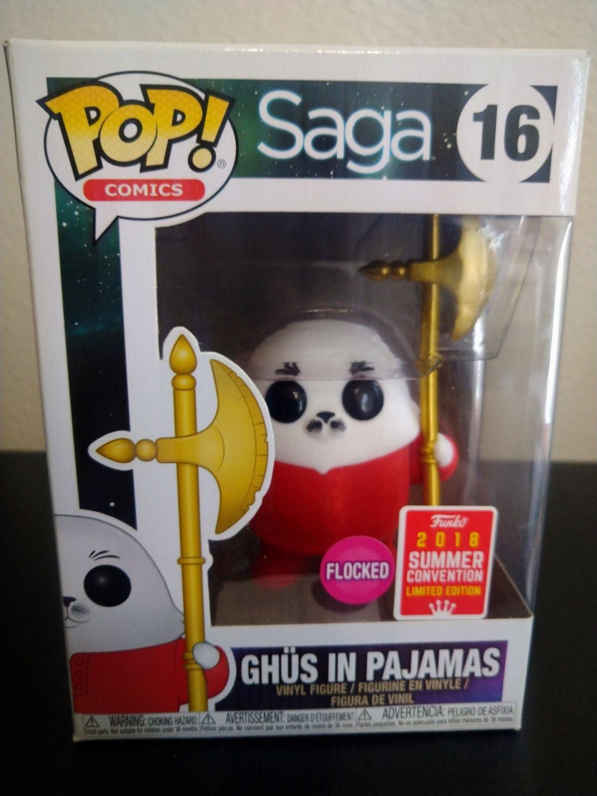 Ghüs in pajamas (flocked) Funko Pop