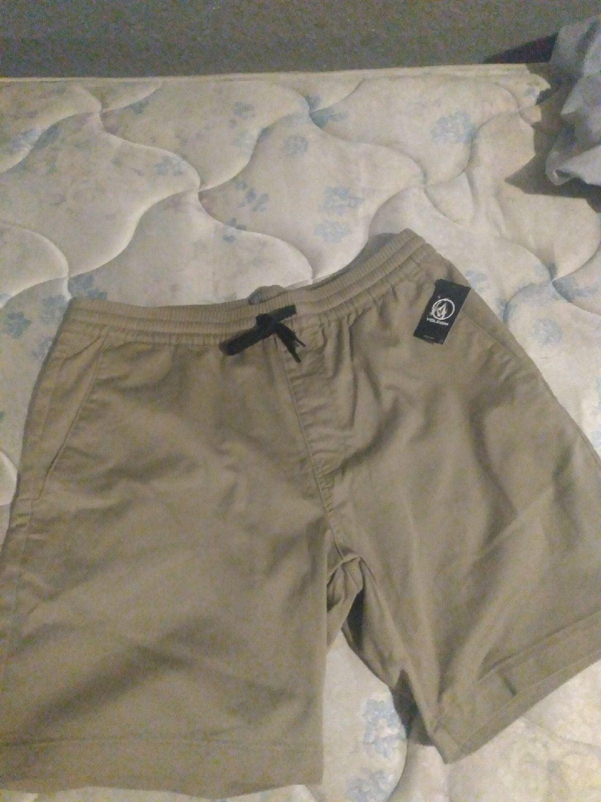 Volcom khaki shorts XL/34ish