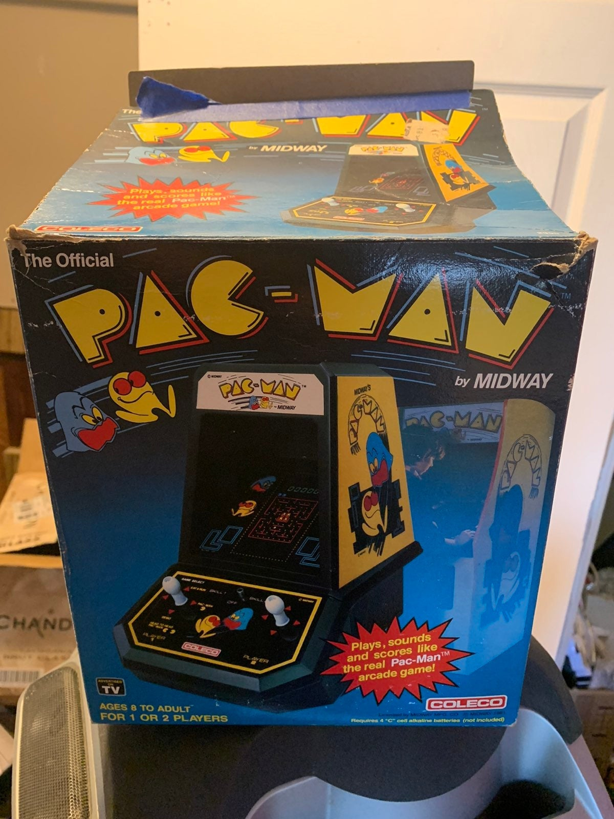 VINTAGE ©1981 COLECO PAC-MAN BY MIDWAY T
