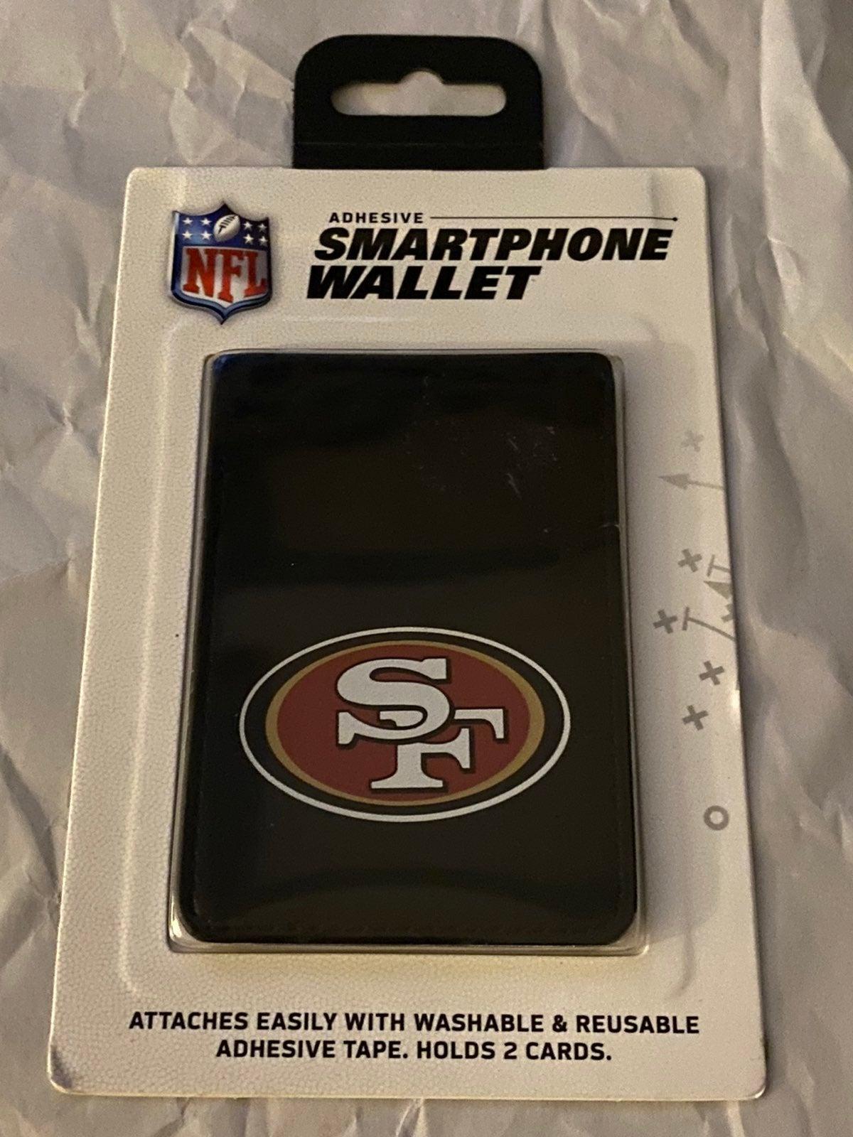 San Francisco 49ers phone card holder
