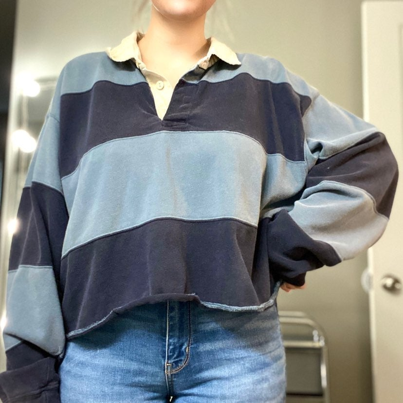 Vintage 90's Cropped Shirt