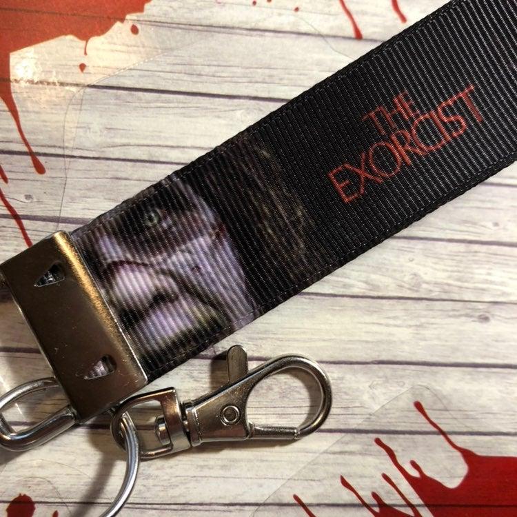 The Exorcist Key Ring Fob Keychain