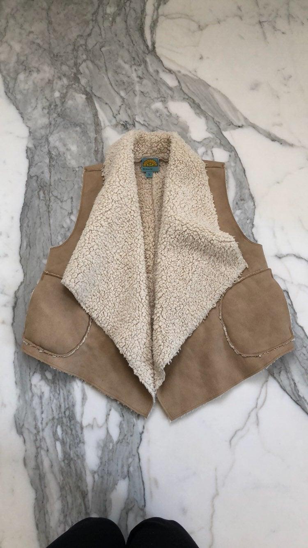 C&C California Faux Shearling Vest