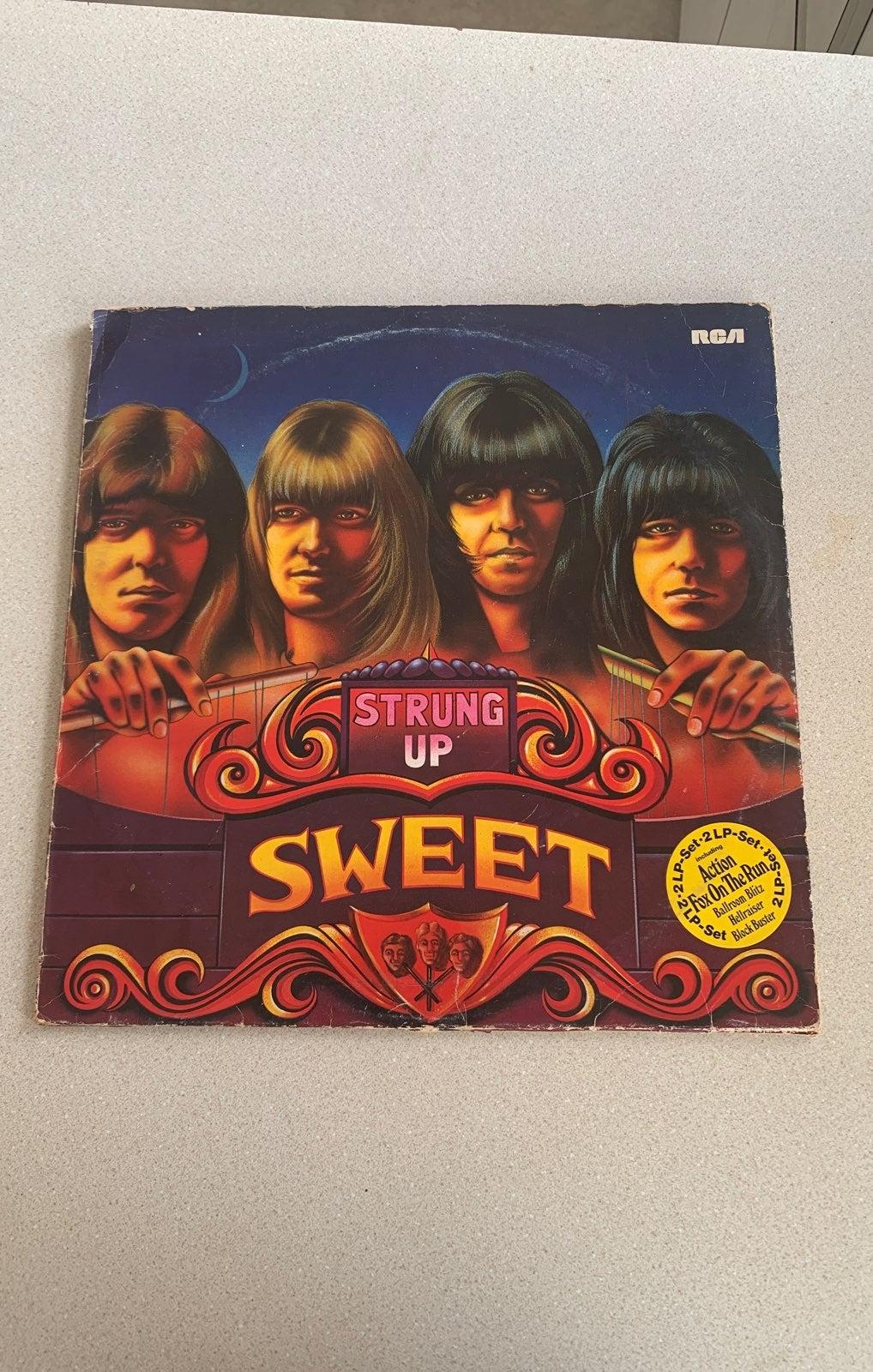 Sweet Strung Up 2LP 1976 Record Vinyl Gl