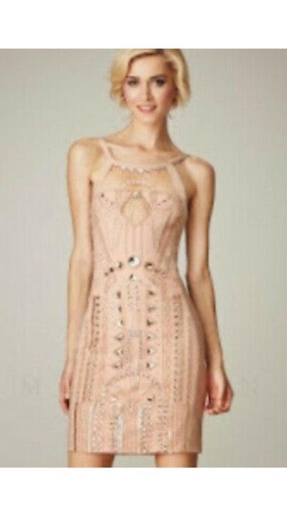 MIGNON Beaded Dress Size 0 New