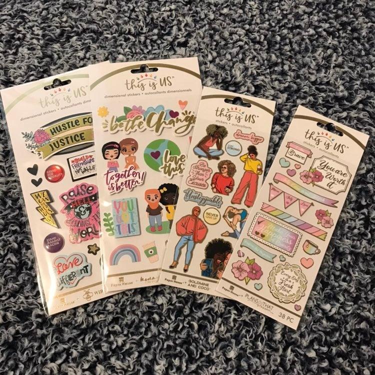 Female Empowerment Stickers