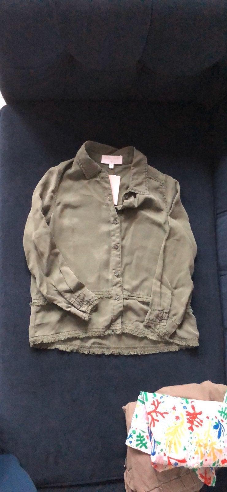 Bella Dahl Girls Shirt