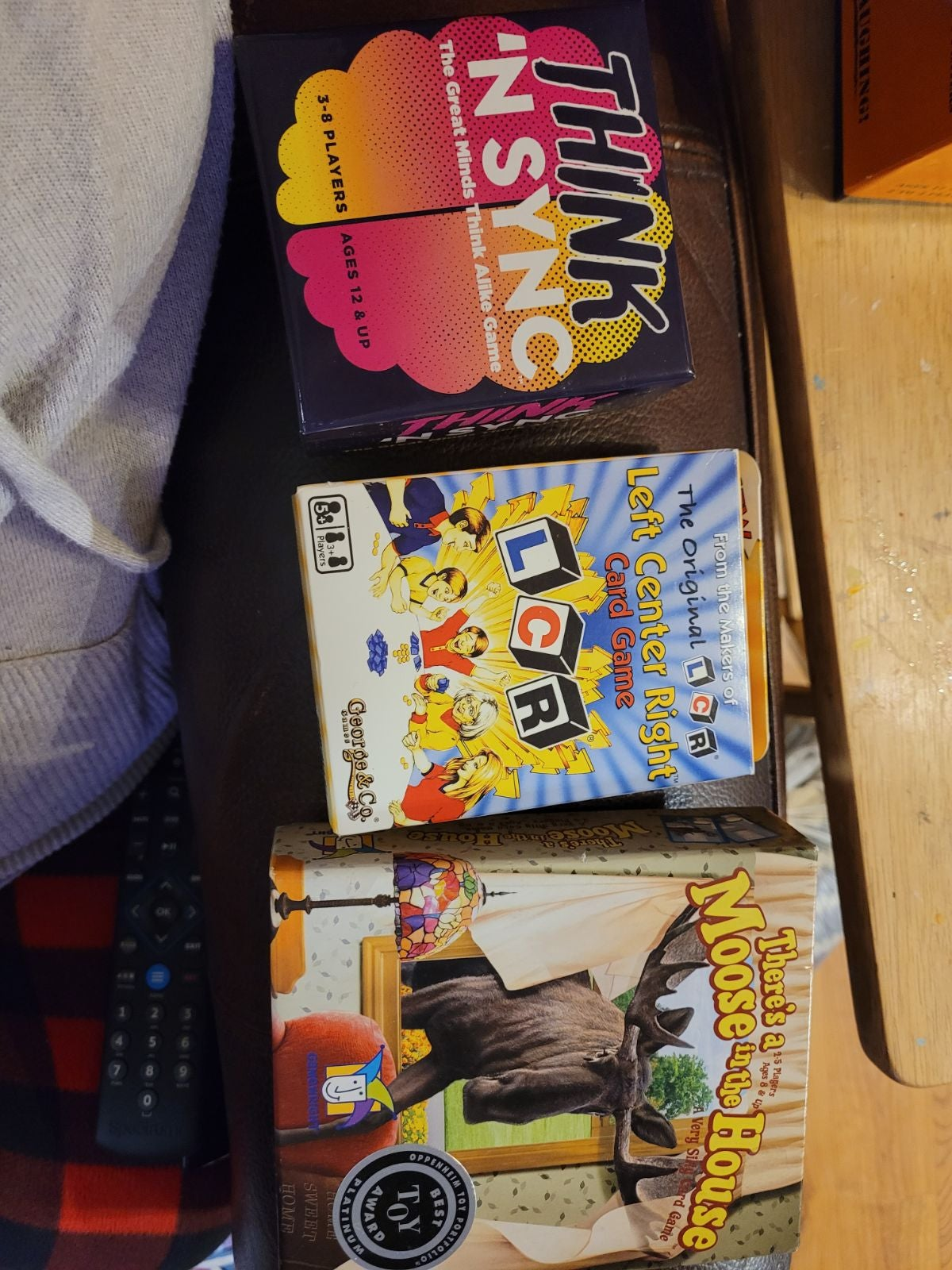 Variety of games