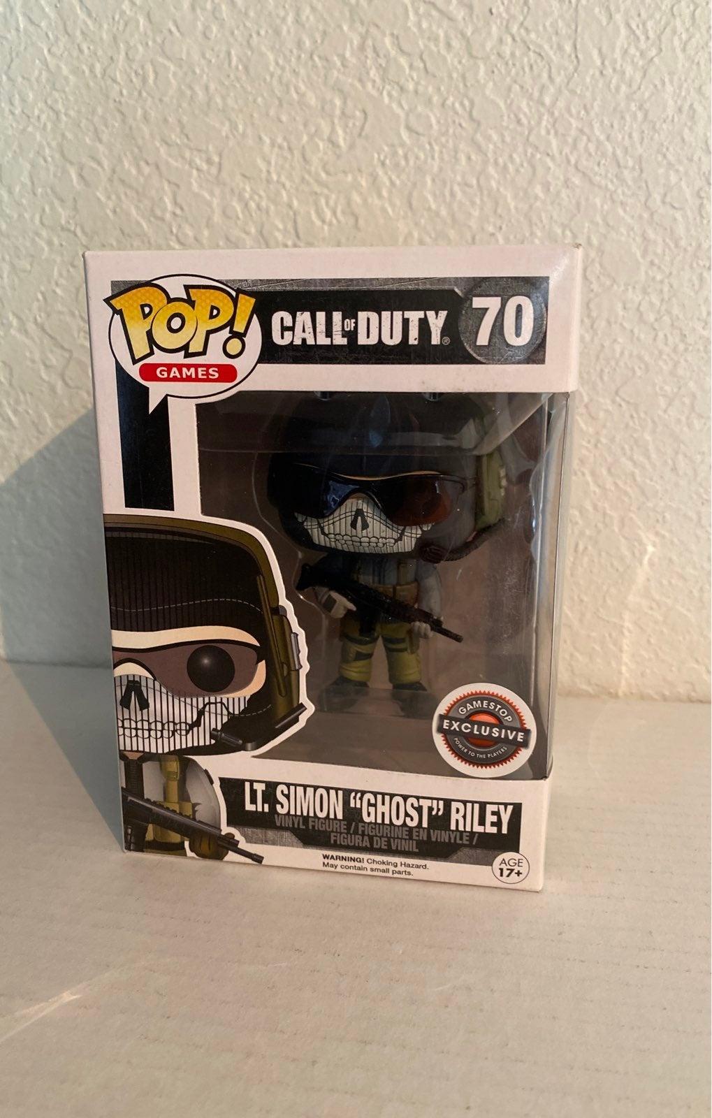 Lt. Simon Ghost Riley COD Funko Pop