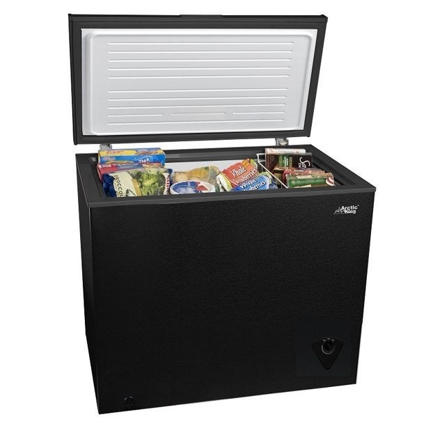 Arctic King Freezer Chest 7 cu ft Black