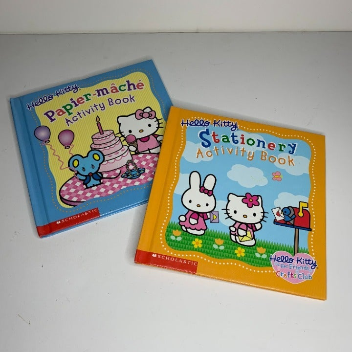 Lot of 2 Hello Kitty Crafts Club