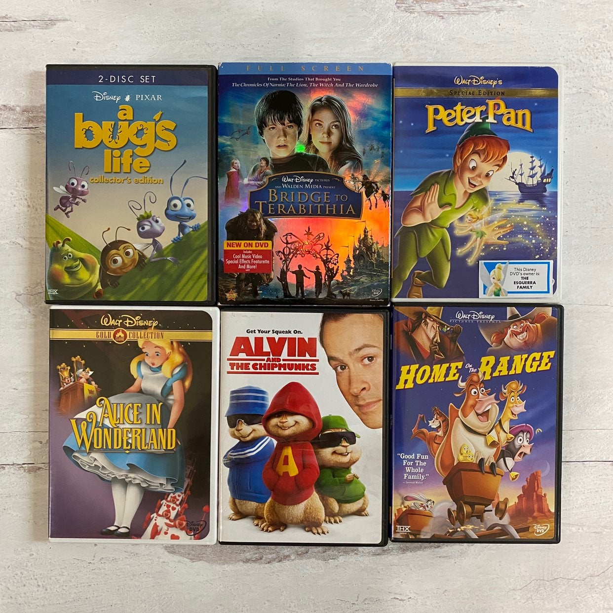 Kids DVD Movies Bundle