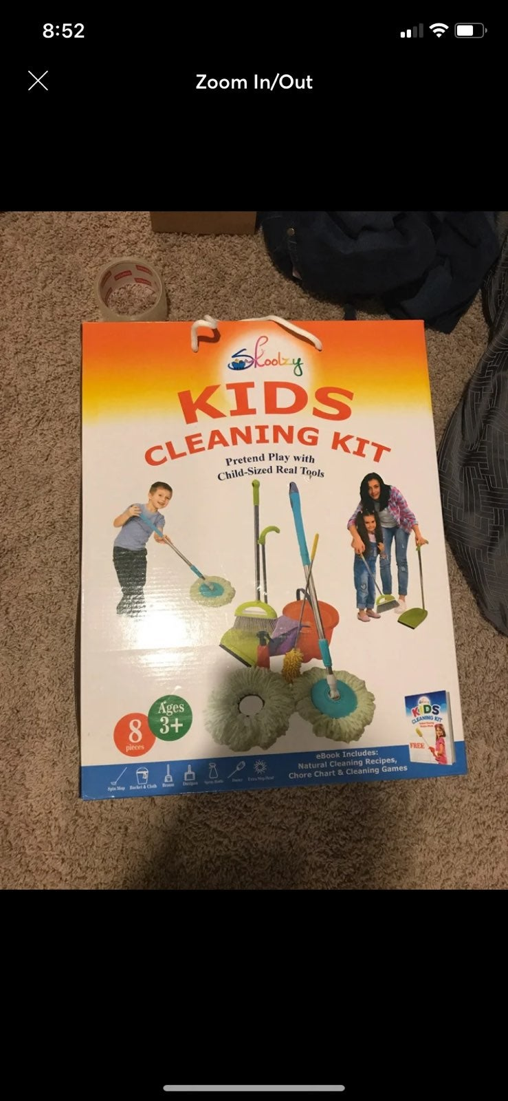 Childs cleaning kit